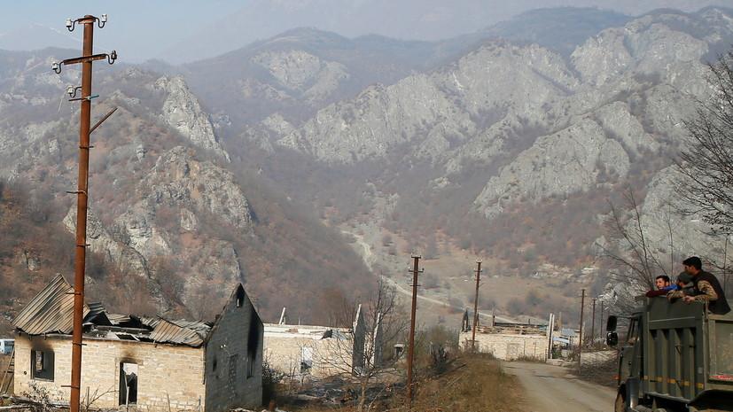 Замглавы Минобороны России и президент МККК обсудили Нагорный Карабах