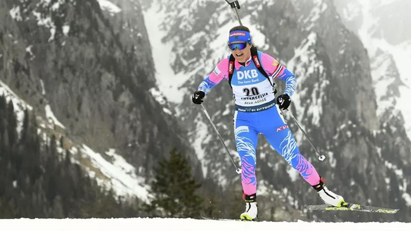 Биатлонистка Юрлова-Перхт не выступит в нынешнем сезоне из-за беременности