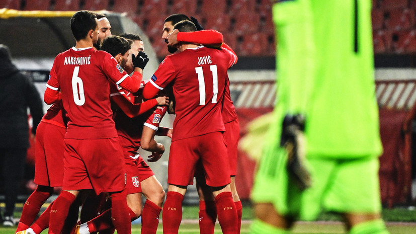 Наставник сборной Сербии заявил о везении в матче с Россией