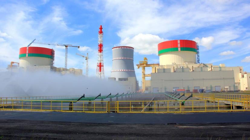 Первый блок БелАЭС включили в сеть после замены трансформаторов