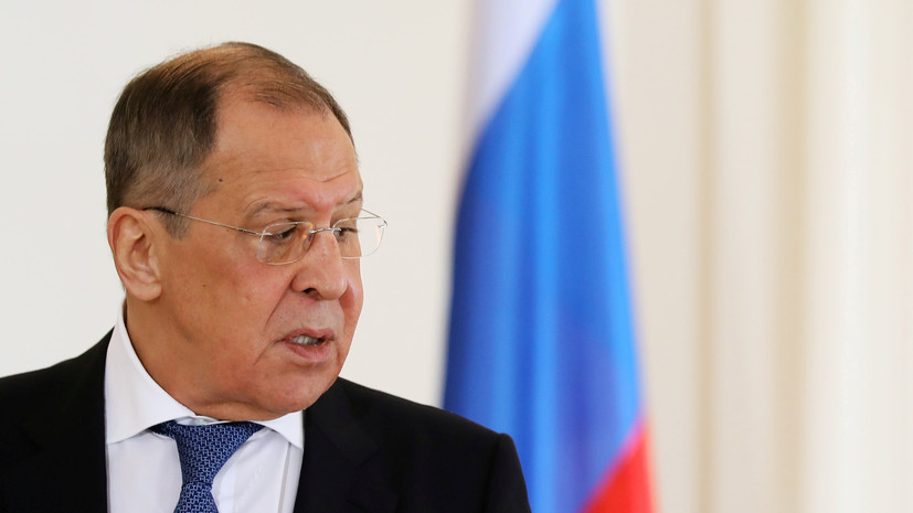 Лавров совершит визит в Минск