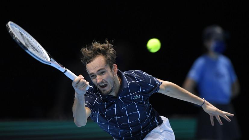 Камельзон восхитился игрой Медведева в матче с Джоковичем на Итоговом турнире ATP