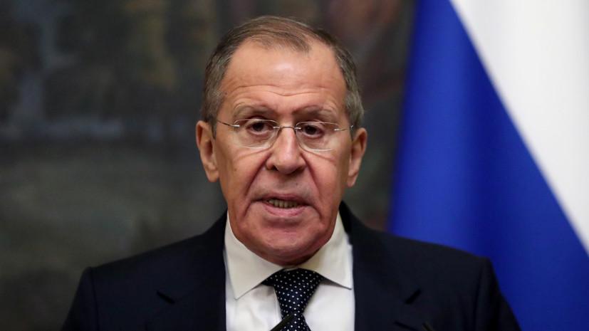 Лавров: процесс сирийского урегулирования продвигается вперёд
