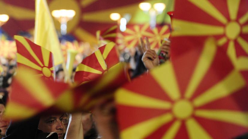 В Северной Македонии предлагают ввести кризисное положение из-за COVID-19