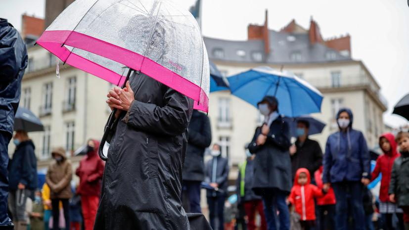 Во Франции заявили о влиянии пандемии на психическое состояние граждан
