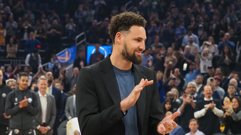 СМИ: Баскетболист «Голден Стэйт» Томпсон полностью пропустит второй сезон подряд