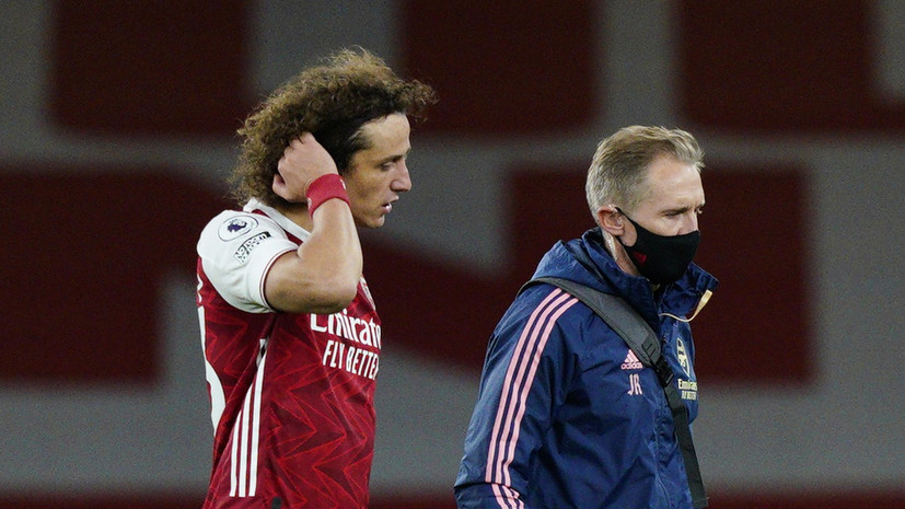 СМИ: Футболист «Арсенала» Луис на тренировке ударил в лицо одноклубника