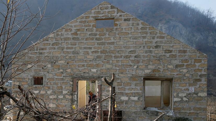 МЧС: более 280 объектов в Нагорном Карабахе полностью уничтожены