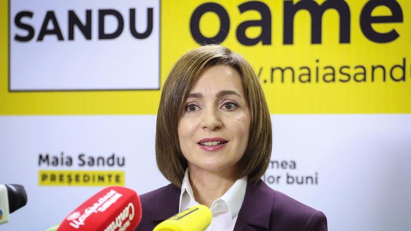 В ЦИК Молдавии объявили Санду победителем президентских выборов