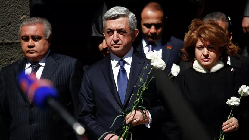 Супруга экс-президента Армении Саргсяна умерла от коронавируса