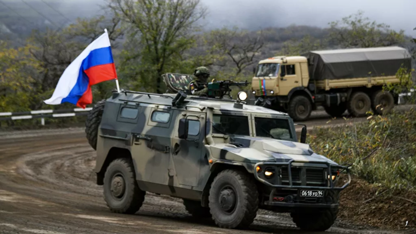 Путин назвал работу миротворцев в Карабахе чёткой и слаженной