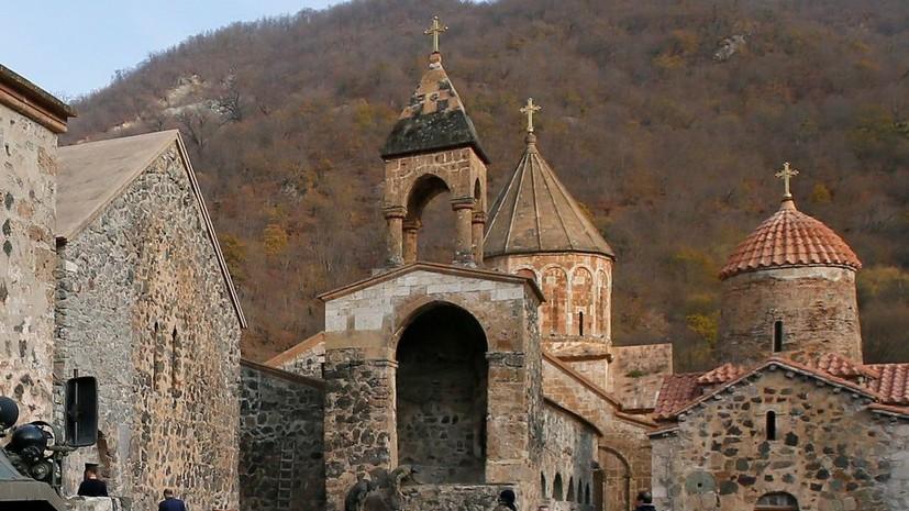 Путин подчеркнул важность защиты религиозных святынь в Карабахе