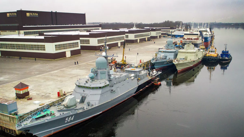 Корабль «Одинцово» с комплексом «Панцирь-М» приняли в состав ВМФ