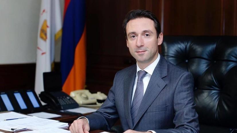 У мэра Еревана выявили коронавирус