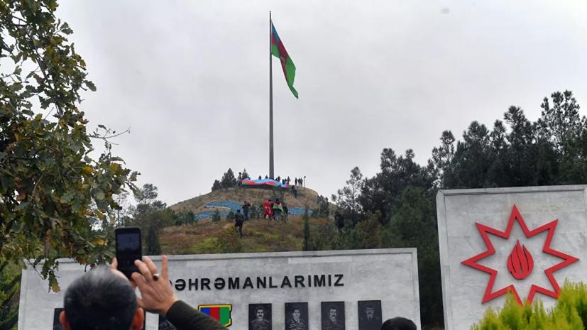 Алиев высоко оценил ход выполнения заявления по Карабаху