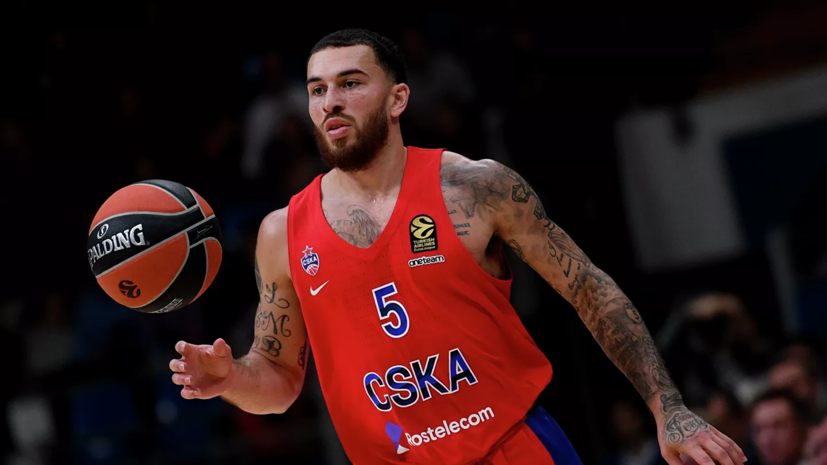 Баскетболист ЦСКА Джеймс признан игроком недели в Евролиге
