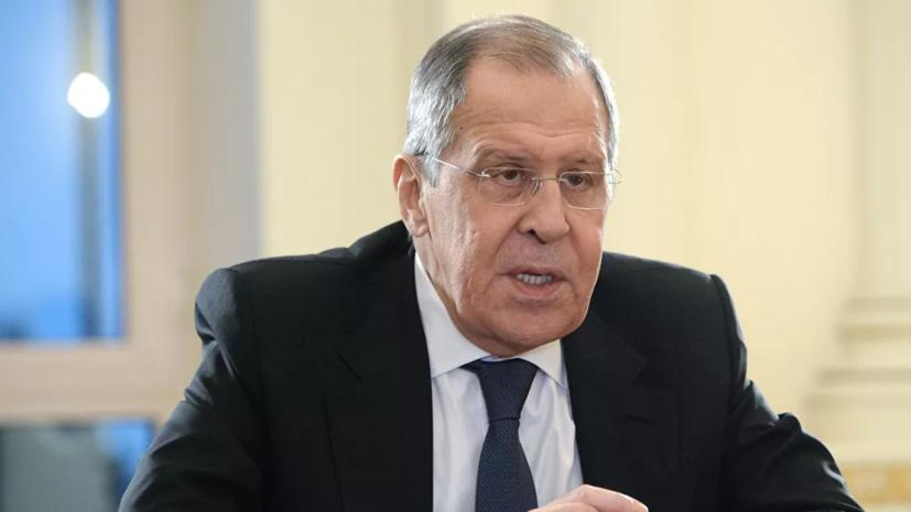 Лавров: Россия будет пресекать геополитические игры вокруг Карабаха