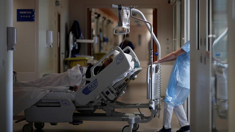 Во Франции за сутки выявлено более 17 тысяч случаев коронавируса