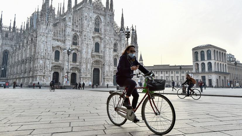 В Италии за сутки выявили более 34 тысяч случаев коронавируса