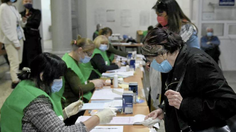 ЦИК Грузии рассказала об обработке голосов по итогам второго тура парламентских выборов