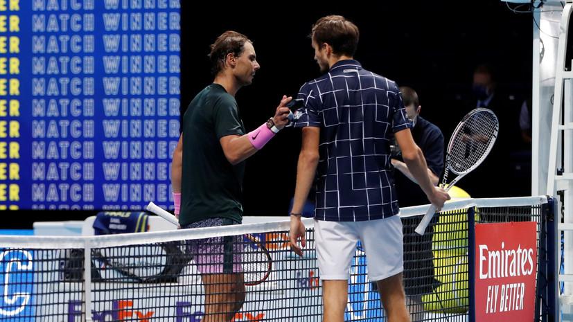 Медведев обыграл Надаля впервые в карьере