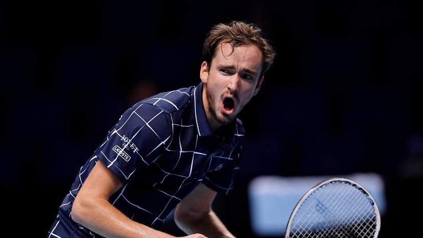 Медведев высказался о победе над Надалем в полуфинале Итогового турнира ATP