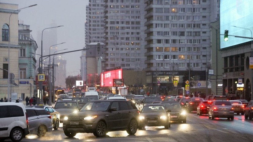Собянин рассказал о работе над дорожной сетью