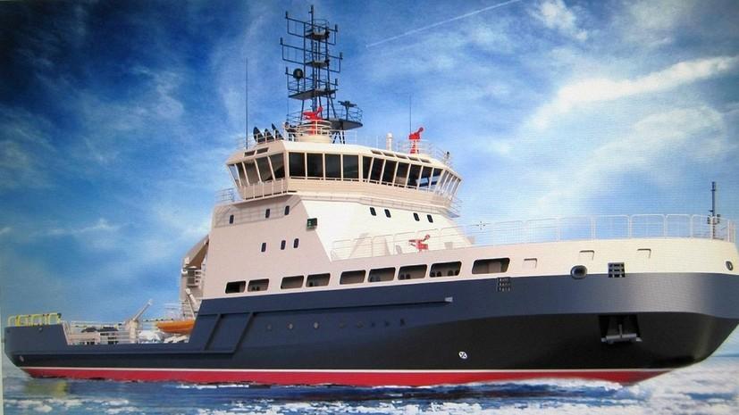 Арктические богатыри: чем уникальны новейшие дизель-электрические ледоколы ВМФ России