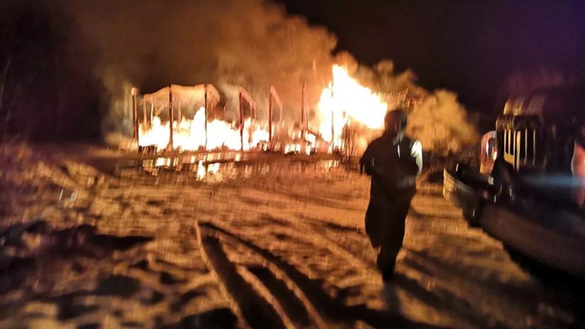 В Кировской области четыре человека погибли в результате пожара