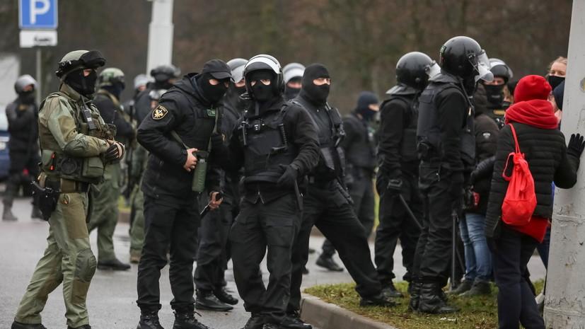 Милиция задержала более 200 человек на акции протеста в Минске