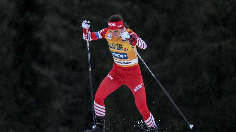 Белорукова вошла в состав сборной России по лыжным гонкам на первый этап КМ
