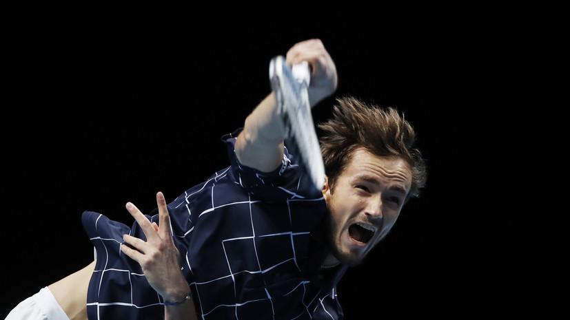Рублёв: у Медведева очень большие шансы выиграть Итоговый турнир ATP