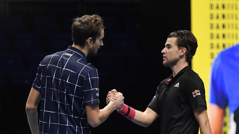 Тим заявил, что ему было приятно играть с Медведевым в финале Итогового турнира ATP