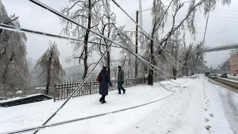 В Приморье синоптики обещают снегопады и похолодание