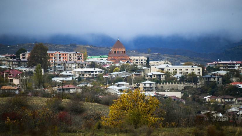 Российский военный пострадал при взрыве мины в Карабахе