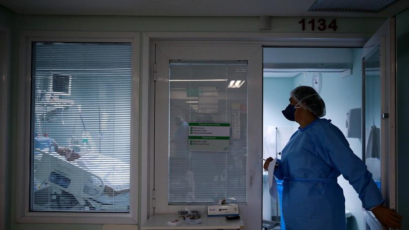 В Бразилии за сутки выявили более 16 тысяч случаев коронавируса