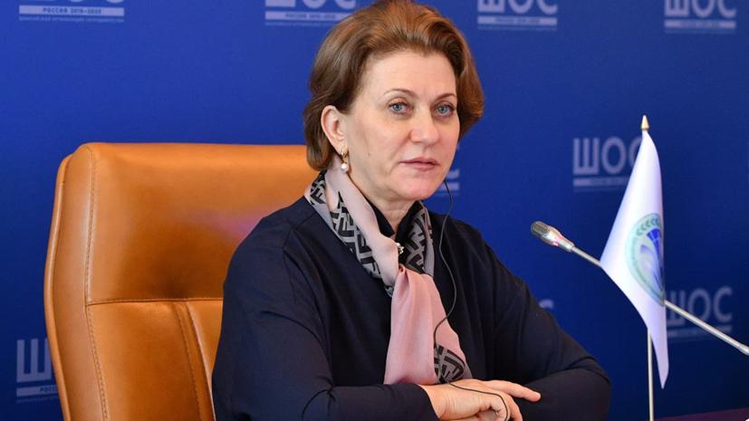 Попова рассказала о циркулирующей в России разновидности коронавируса