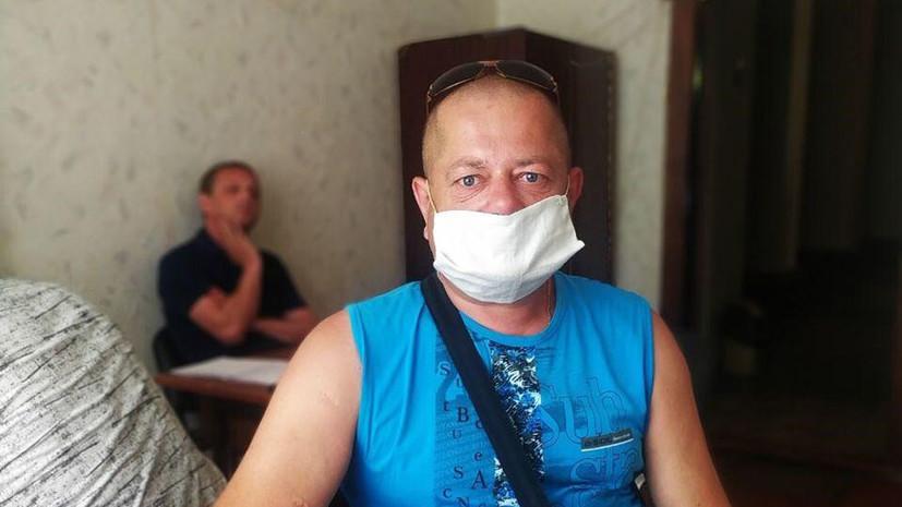 Евгений Ткачёв из Донбасса попал под обстрел по пути на рынок