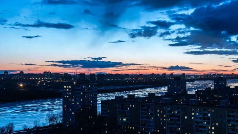 В Омске продлили режим неблагоприятных метеоусловий