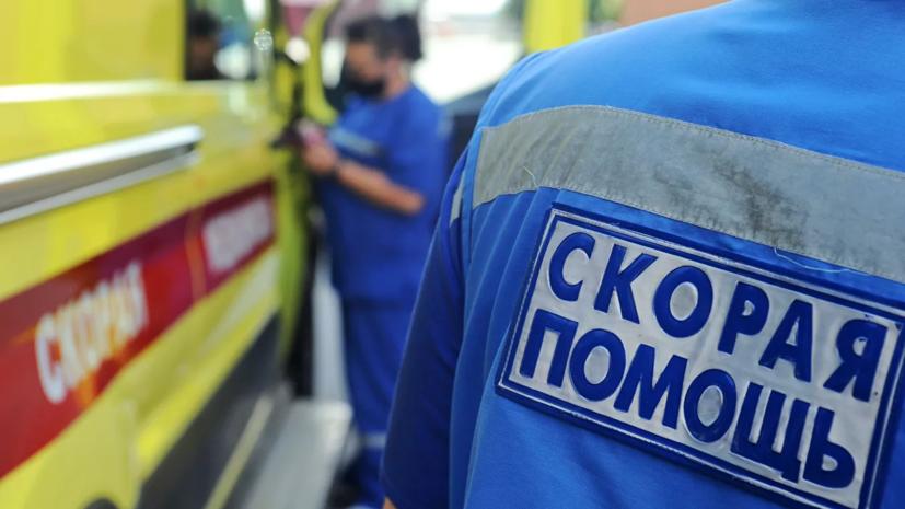 В Москве машина сбила пешеходов после столкновения с другим авто