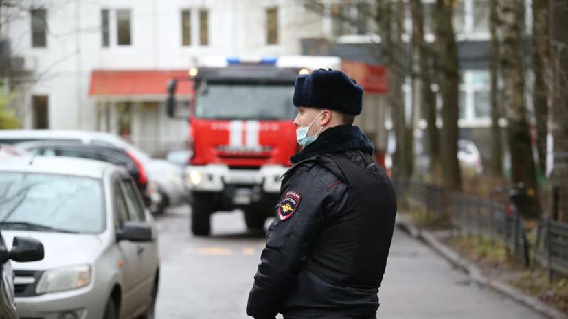 В МВД подтвердили, что захвативший в заложники детей в Петербурге сдался