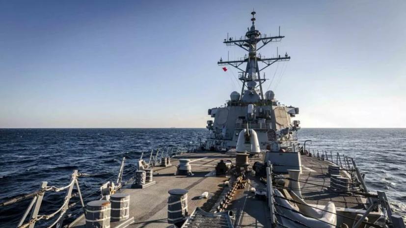 Опубликовано видео сближения корабля «Адмирал