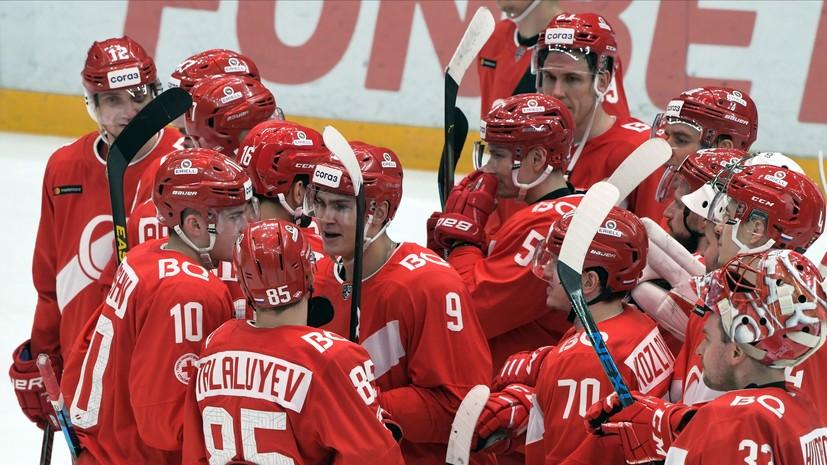 «Спартак» победил «Сочи» в матче КХЛ