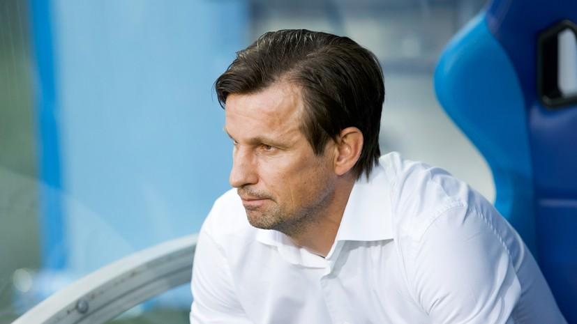 Семак объяснил обмен позициями Малкома и Ерохина в матче ЛЧ с «Лацио»