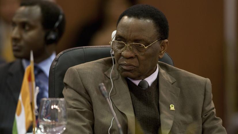 Умер экс-президент Нигера Мамаду Танджа
