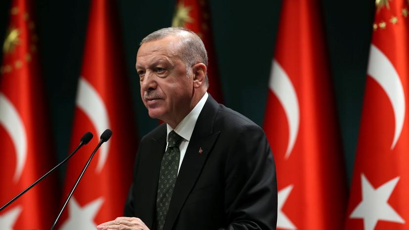 Эрдоган рассказал о турецкой вакцине от коронавируса