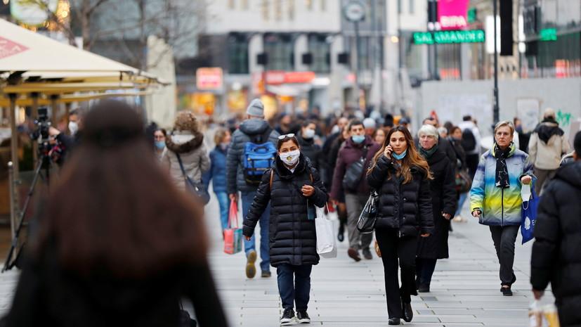 В Австрии повторят массовое тестирование на COVID-19