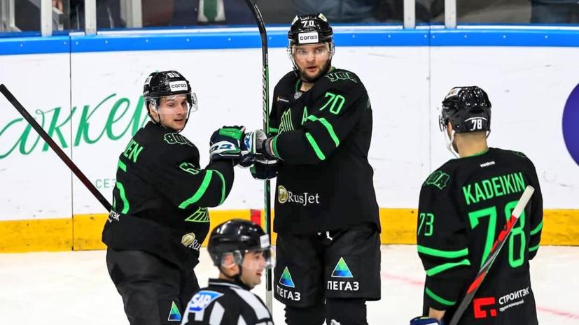 «Салават Юлаев» забросил шесть шайб в ворота «Нефтехимика» в матче КХЛ