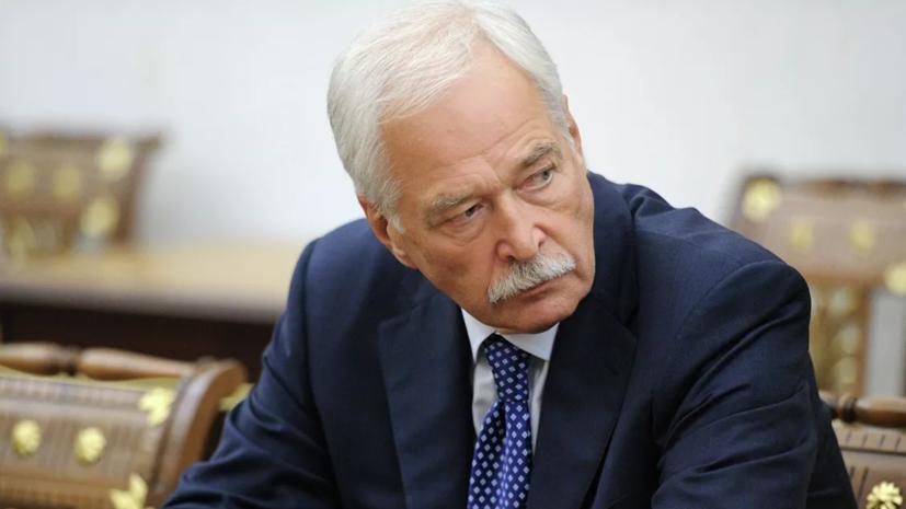 Грызлов: Украина саботирует открытие пунктов пропуска в Донбассе