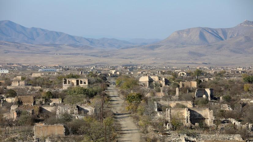 Сенат Франции призвал правительство признать Нагорный Карабах